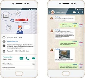 whatapp chatbot for consumer goods